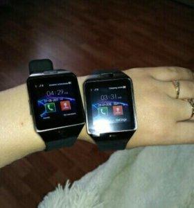 Умные смарт часы smart watch gold