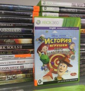 История игрушек парк развлечений Xbox 360
