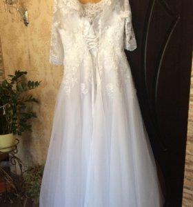 Новое свадебное платье большой размер 🌺