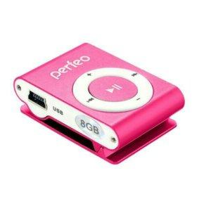 """Mp3-плэер VI-M001-8GB""""Music clip titanium"""
