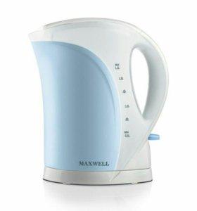 Чайник maxwell 1021 новый в упаковке