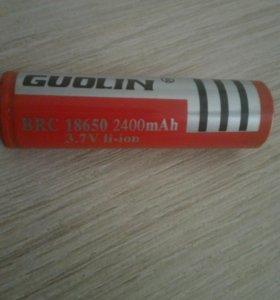 Аккумулятор 18650 2400 mah б/у