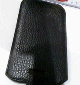 Чехол кожаный на телефон