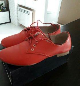 Продам летние туфли 36 размер (23 см)