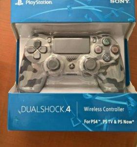 Геймпад джойстик PS4 Playstation 4 камуфляж