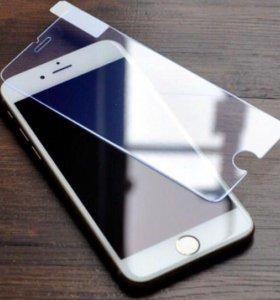 Защитные стекла для iPhone 5, 5s, 6.