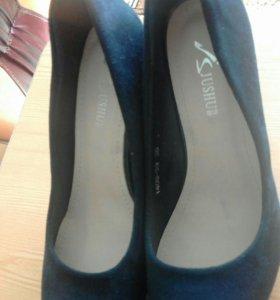 👠НОВЫЕ замшевые туфли