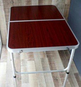 Стол кемпинговый складной 90х60 +2 стула