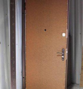 Двери от завода с установкой