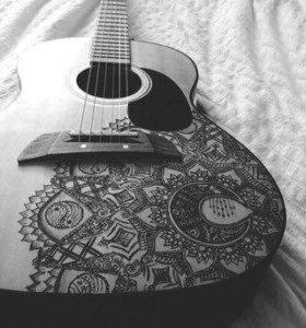 Обучение основам игры на гитаре