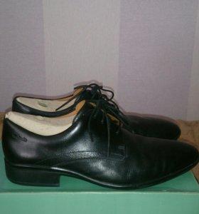 Ботинки Clarks  кожаные