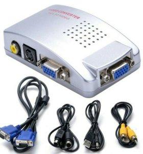 Конвертер VGA to video