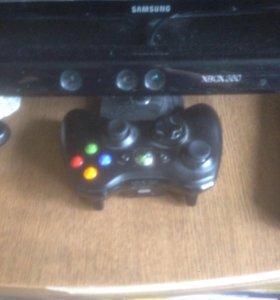 Xbox 360,1 джойстик+кинект,250 гб,(28)игр