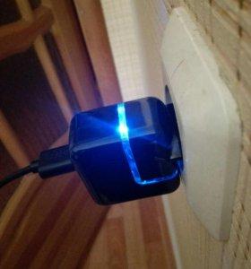 зарядное устройство с подсветкой