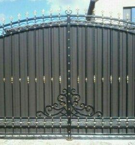 Ковка ворота.