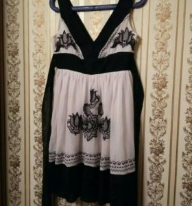 Летнее платье 44-46