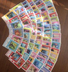 Карточки Сильпо Disney изучаем английский