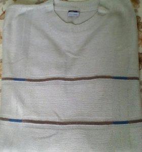 Тонкий свитер большого размера