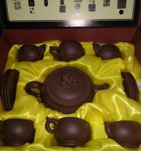 Чайный набор китайский глиняный