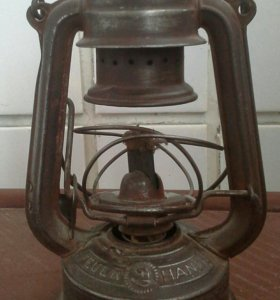 Немецкий блиндажный фонарь.