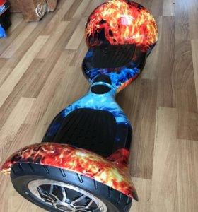 Гироскутер 10 дюймов лёд и пламя