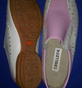 Кожаные Новые Туфли, ботинки, кронверсы