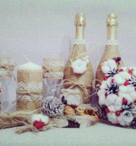 Подарки ручной работы и свадебные аксессуары