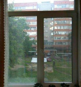 Пластиковые окна 3шт
