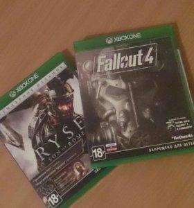 Игры для xbox one. RYSE. Fallout 4.