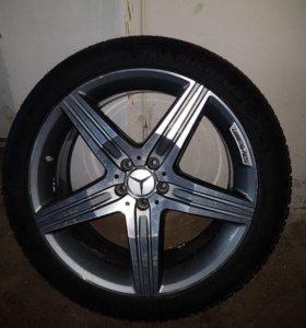 Mercedes AMG диски с шинами R20