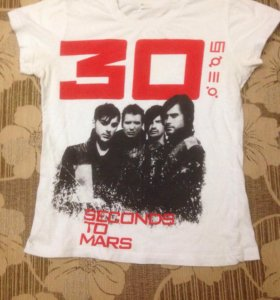 Футболка с музыкальной группой 30 Second To Mars