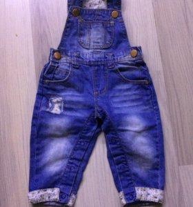 Комбинезон джинсовый Zara kids