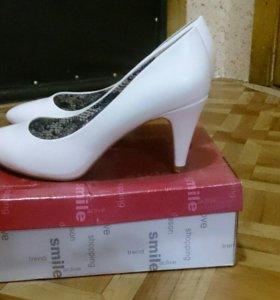 Туфли свадебные - лодочки