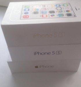 Коробки iPhone 5s-6
