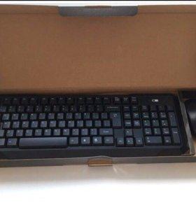 Клавиатура + мышь беспроводная