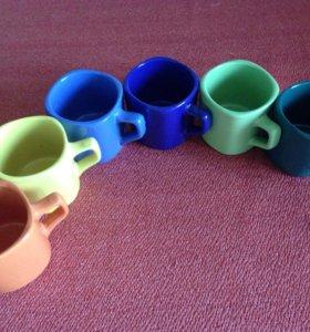 Чайный набор 6 кружек. Новый