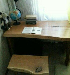 Дизайнерская мебель .стол и стул .