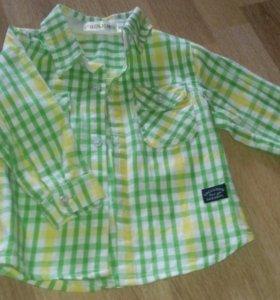 Модная рубашечка размер 80