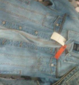 Джинсовые куртки и безрукавки