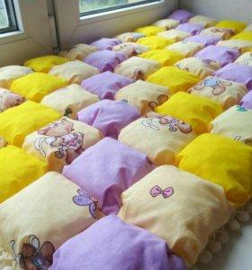 Одеялки зефирки в кроватку
