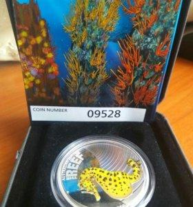 Серебряная монета 50 центов Австралия