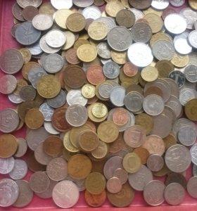 Иностранные монеты лот 1