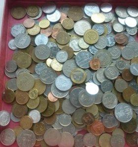 Иностранные монеты лот 2
