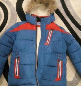 Куртка зимняя 146р-р