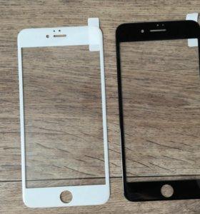 Защитное стекло на iPhone 6+ 6s+ 7+ plus