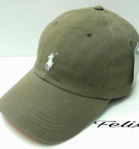Кепка бейсболка мужская Polo Ralph Lauren (зелен)