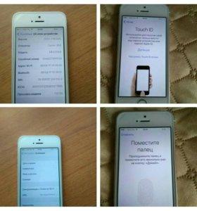 Айфон 5s на 16 г на гарантии
