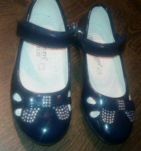 Туфли детские новые 26 размер