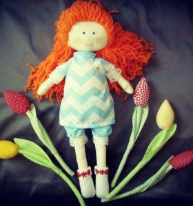 Игровая Кукла из ткани