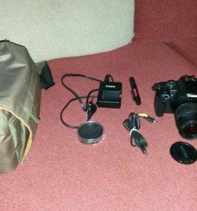 Зеркальный фотоаппарат Canon 500 D